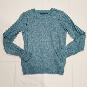 Prana | Turquoise Lightweight Crew Neck Sweater